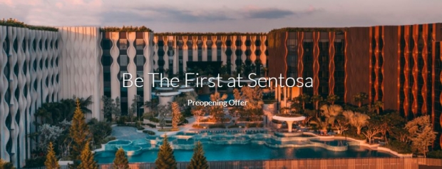 Be the First in Sentosa: Book your Stay with Far East Hospitality