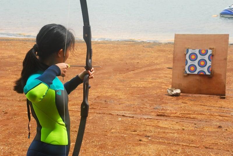 eco saddle archery