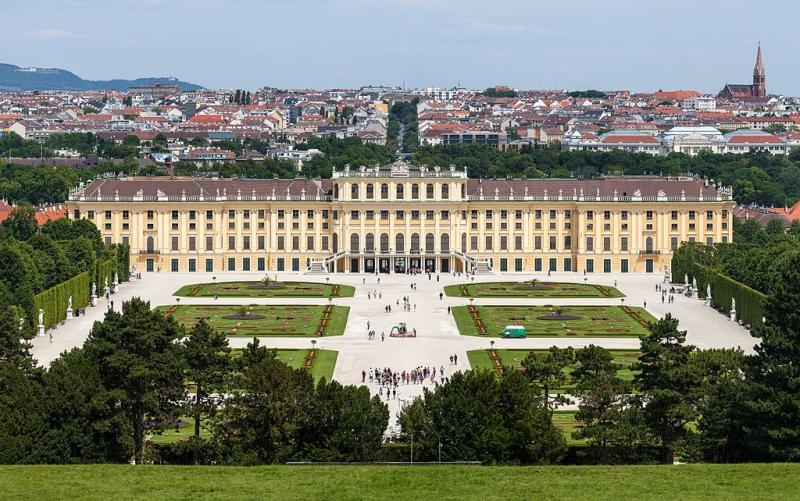 Cung điện Schonbrunn.
