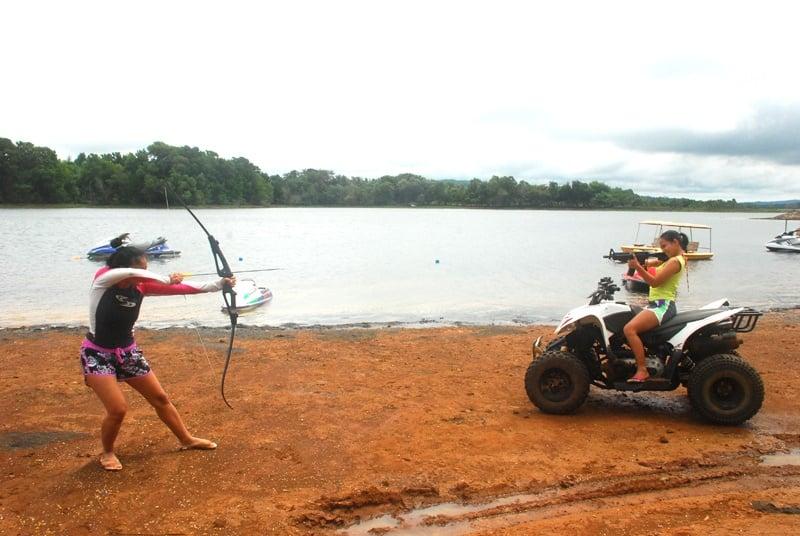 eco saddle lake caliraya laguna