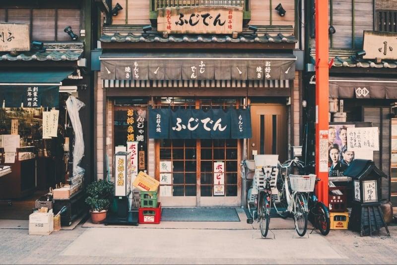 japanese phrases: restaurant sign