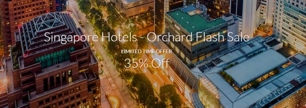 Sale Ends October 1 - Orchard Flash Sale with 35% Off Hotel Bookings via Far East Hospitality