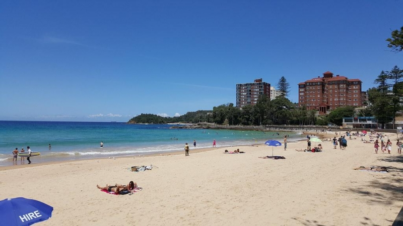 things to do in sydney: manly beach