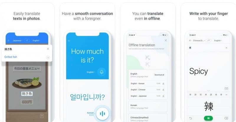 south korea apps language