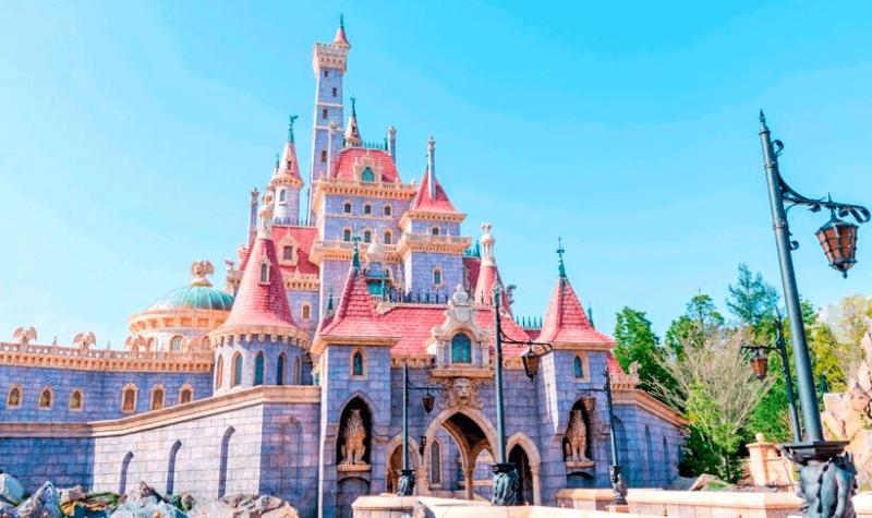 Tokyo Disneyland Beauty and the Beast Castle