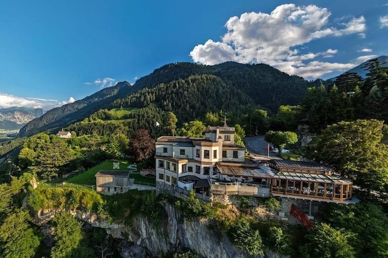 Castle Airbnb in Switzerland