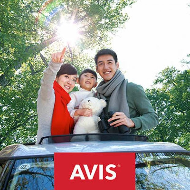 Up to 20% off Worldwide Avis Car Rental for Maybank Cardholders