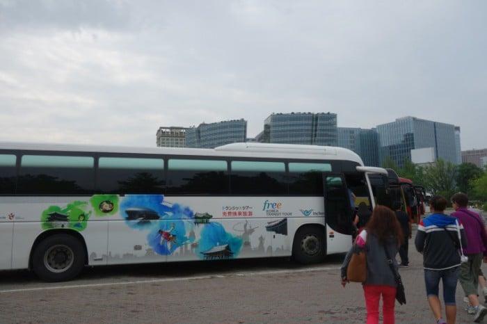 seoul hop on transit tours