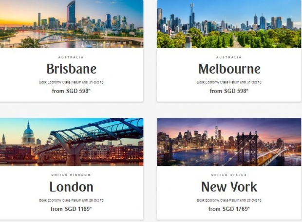 Discover the World with Flights on Emirates from SGD598 1