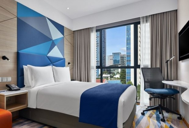 Up to 20% off Room Rates at Holiday Inn Express Singapore Serangoon with HSBC