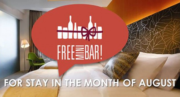 FREE Mini Bar During Your Stay at Wangz Hotel this August!