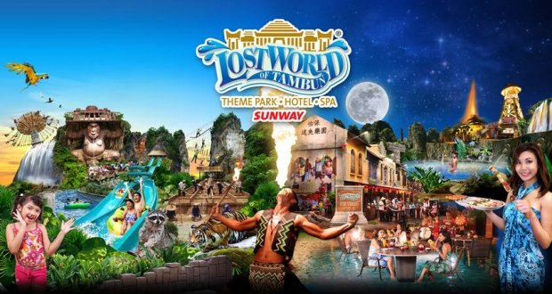 Enjoy Up to 60% Off Savings in Sunway Lost World of Tambun with Malindo Air Boarding Pass