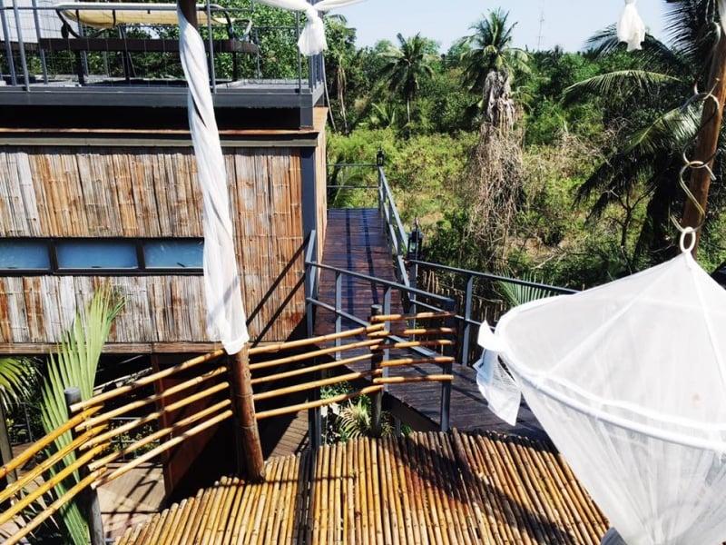 Khách Sạn Thú Vị Bangkok tree house