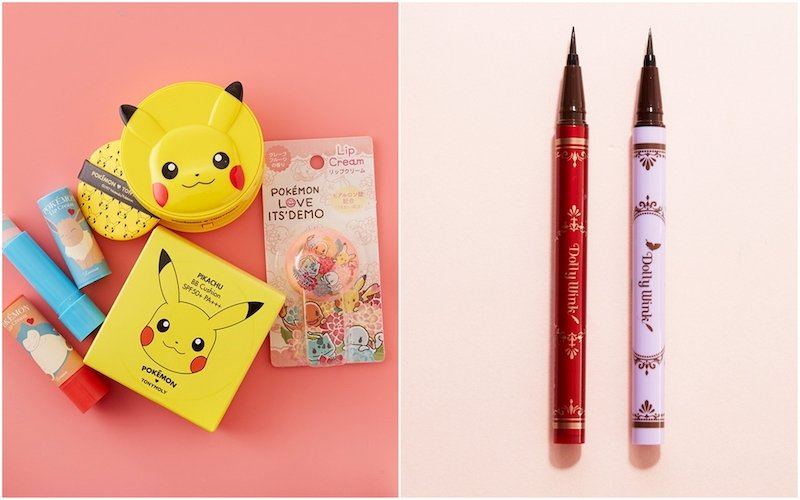 japanese and korean beauty products