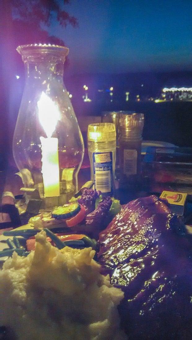 africa dinner