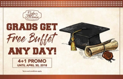 Grads Get FREE Buffet Any Day