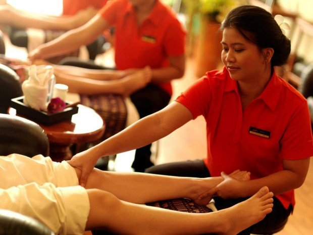 chillout massage lek thai massage