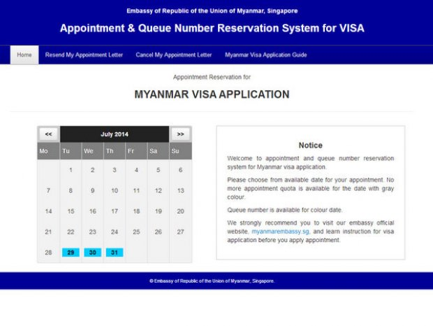 How to Apply for a Myanmar Visa in Singapore