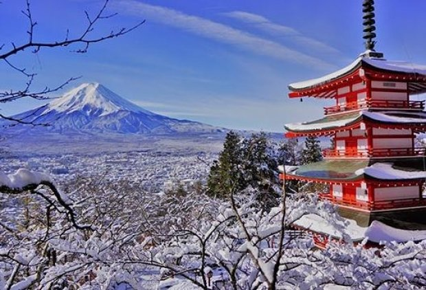Experience Winter in Japan with All Nippon Airways