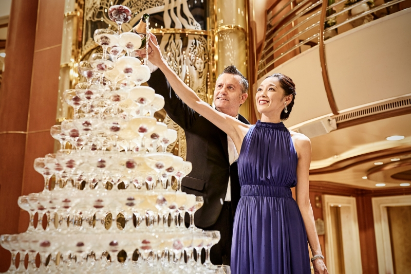 Princess Cruises new year's celebration