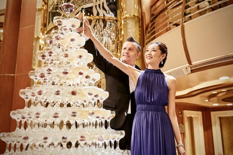 Princess Cruises new year's celebration