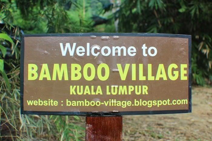 malaysia kampung bamboo village