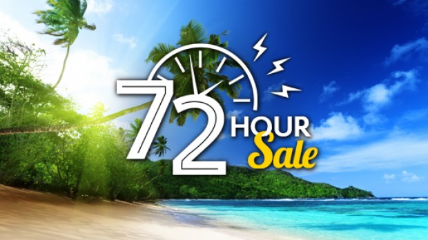 72 Hour Flash Sale on Expedia for your Hotel Deals