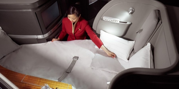 Two-to-Travel First Class Fares in Cathay Pacific to Europe and North America