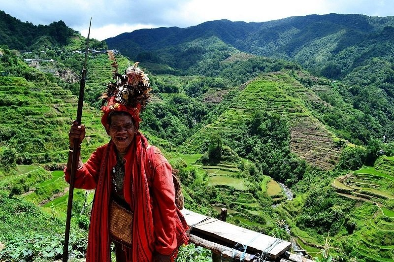 banaue rice terraces batad