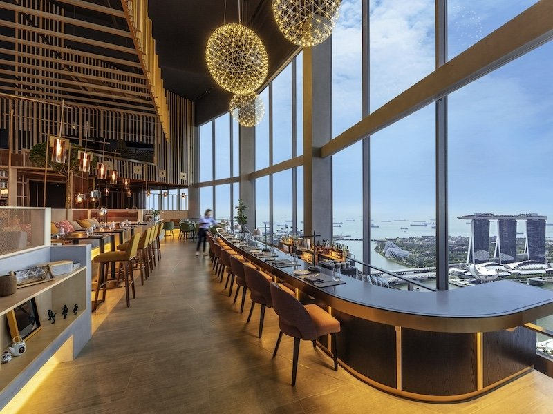 Singapore restaurants with a view