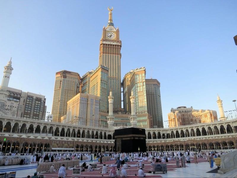Mecca Kaaba Saudi Arabia Zamzam water