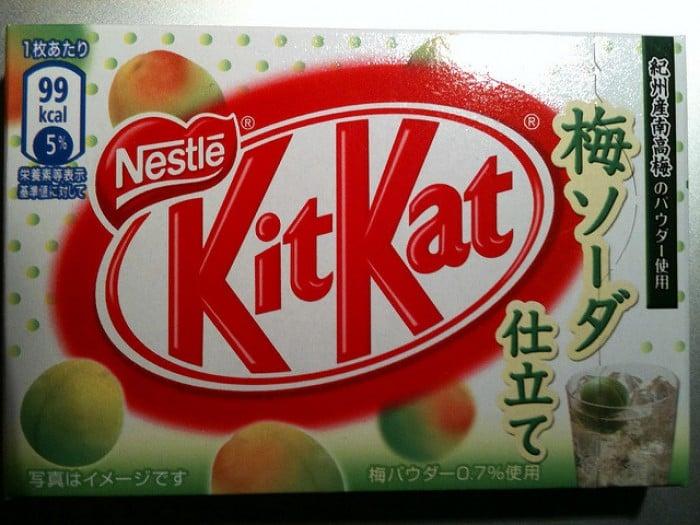 Plum Soda KitKat