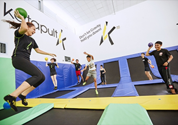 Get 15% Off in Katapult Trampoline Park with OCBC Card