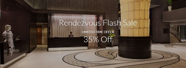 Limited Time Only - Enjoy 35% OFF with Rendezvous Flash Sale in Far East Hospitality