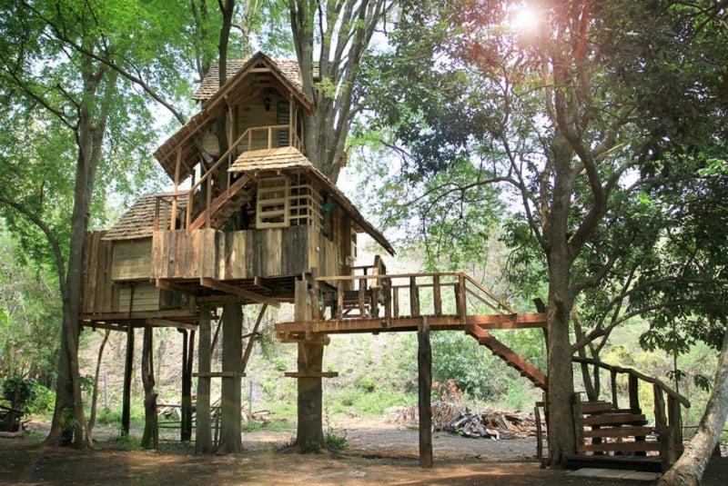 Rabeang Pasak Tree House Resort, Chiang Mai, Thái Lan