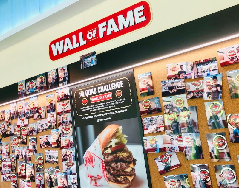 Fatburger's Wall of Fame
