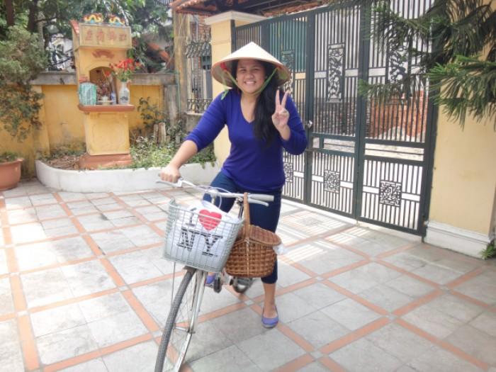 biking hanoi