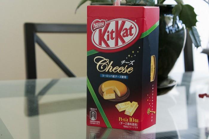 Cheese KitKat