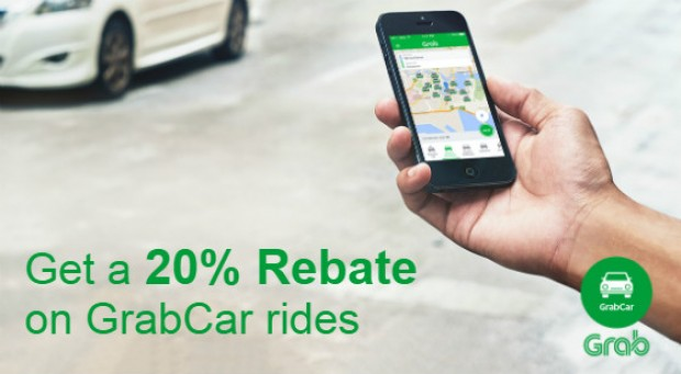 Get a 20% Rebate on GrabCar Rides with American Express Card 1