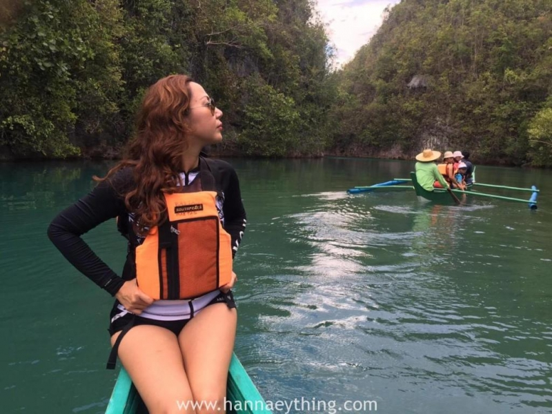 cruising the Bojo river of Cebu