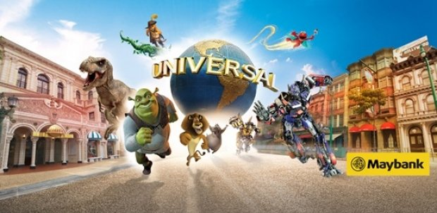 Maybank Exclusive: Universal Studios Singapore Adult One-Day Ticket at SGD66