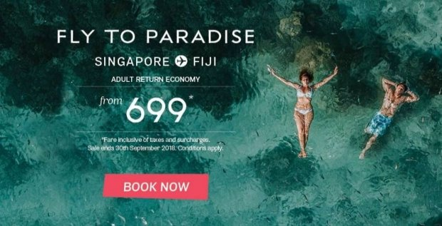 Discover Tropical Paradise with Fiji Airways from SGD699