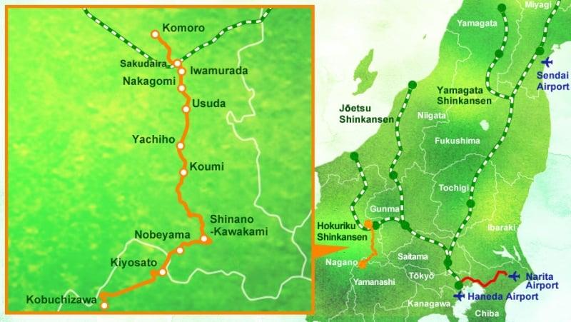 route map high rail 1375