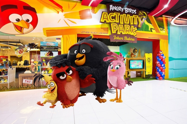 Enjoy 30% off* on Angry Birds Activity Park Ticket with MasterCard