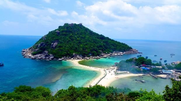 Isla Nang Yuan en Tailandia