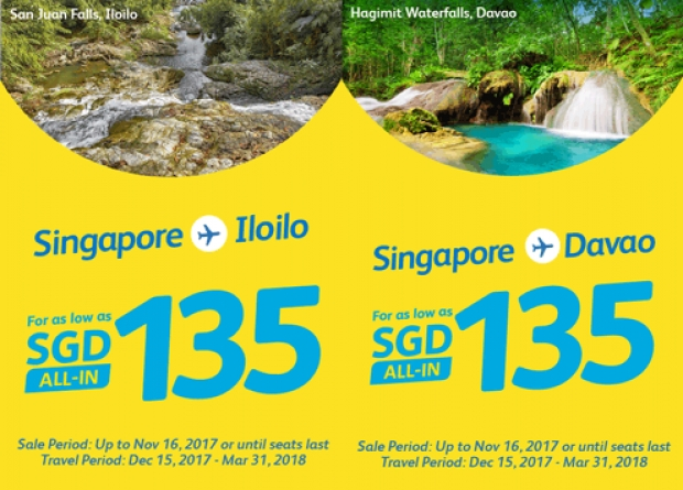 Fly to Philippines with Cebu Pacific from SGD89 1