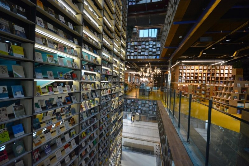 beautiful libraries & bookstores: book park, seoul