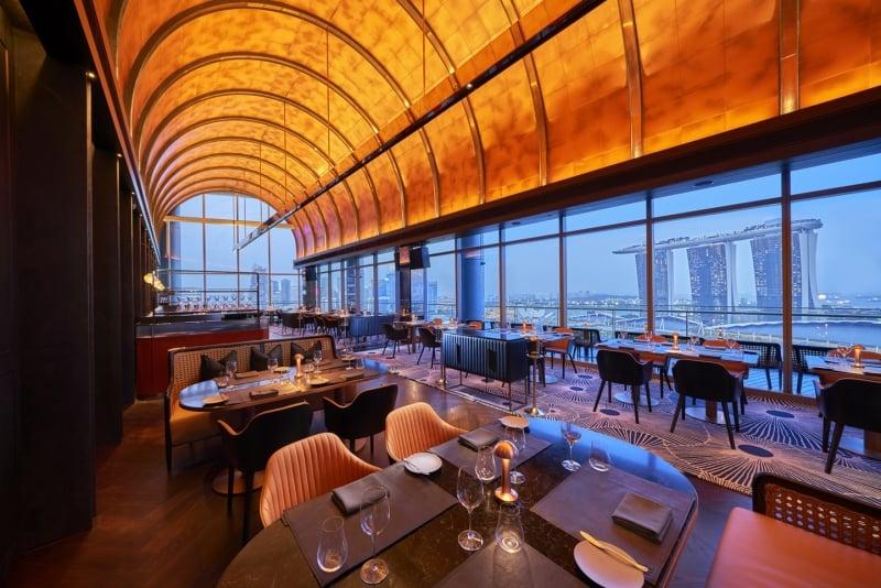 best valentine's dining spots singapore
