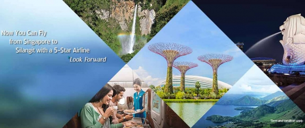 Fly to Silangit Jakarta with Garuda Indonesia from SGD189