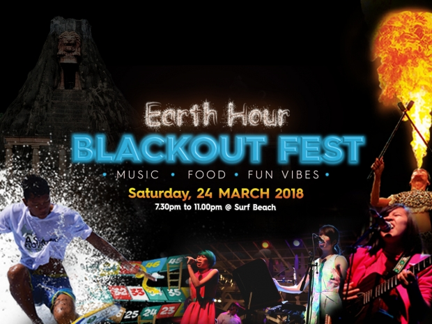 Earth Hour Blackout Fest in Sunway Lagoon from RM40